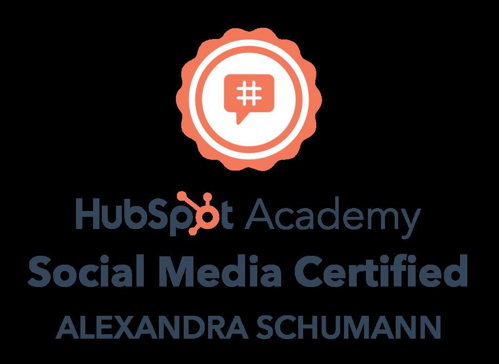 Social Media Beraterin Alexandra Schumann